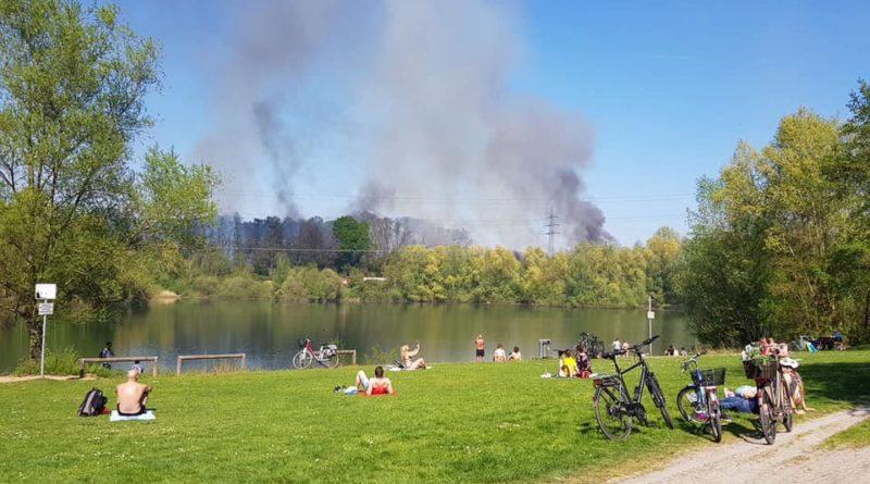 Einsatz: Brand auf Leverkusener Bahnstrecke