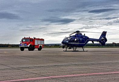 Besuch der Bundespolizei-Fliegergruppe